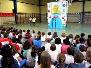Performance llegenda Sant Jordi 2