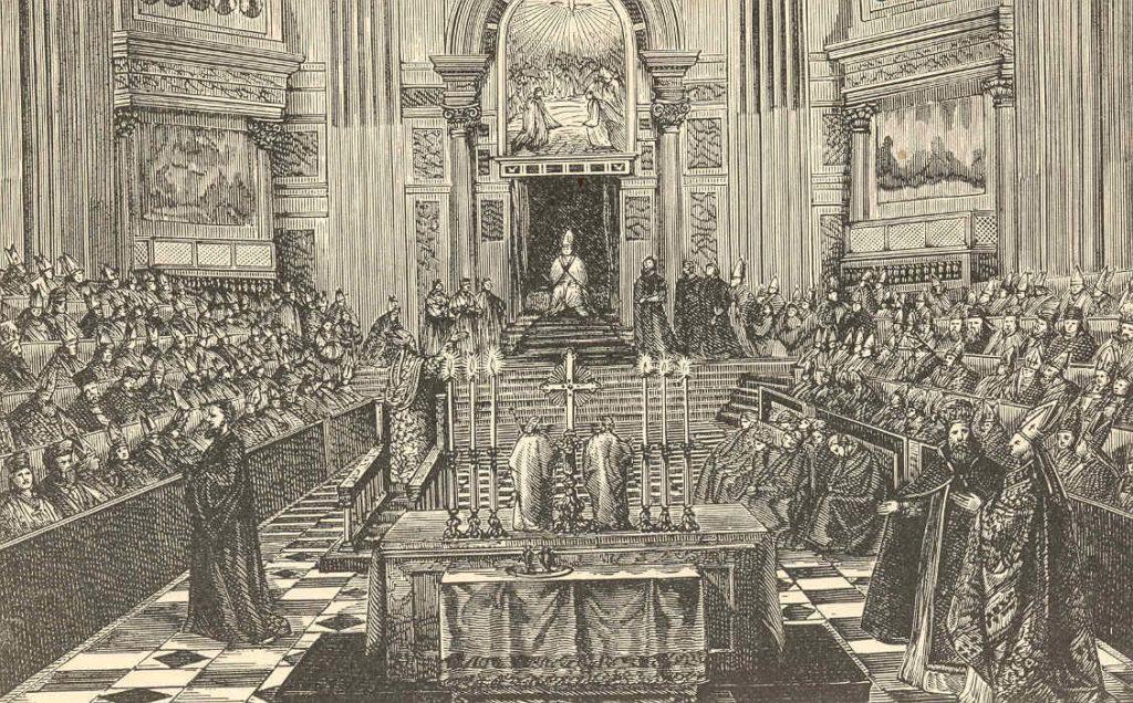 Assisteix a l'obertura del Concili Vaticà I