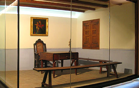Claret funda la Congregació en una cel·la del seminari de Vic